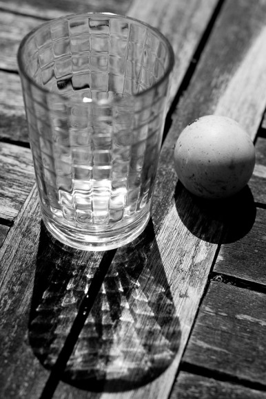 Nature morte au verre